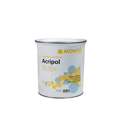 Acripol+cat. piscinas de poliester azul 4 litros