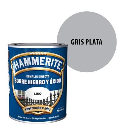 Hammerite antioxidante liso gris plata 750 ml