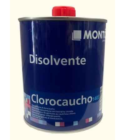 Disolvente clorocaucho 1403 750 ml