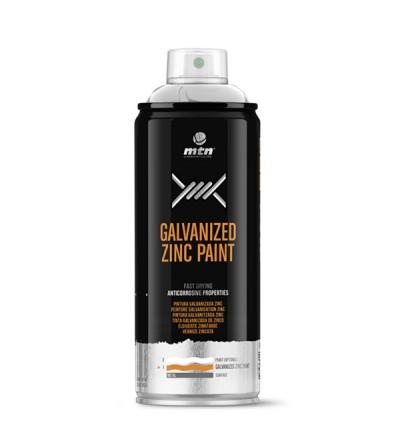 Mtn pro plata galvanizada zinc brillante 400 ml