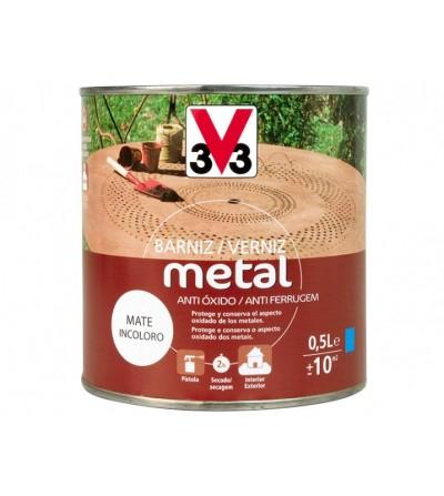 Barniz para metal mate 500 ml