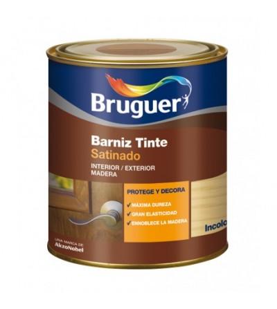 Barniz tinte satinado bruguer 750 ml