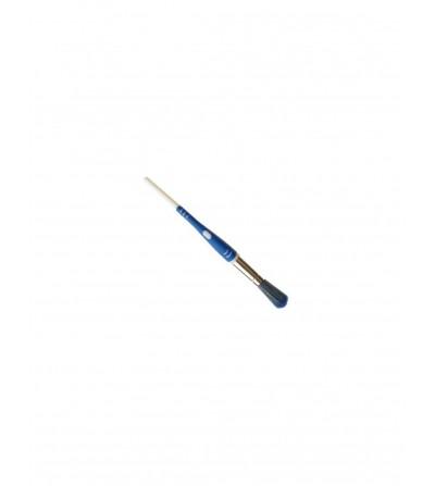 Pincel mango bimaterial mezcla azul nº 28