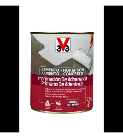 Imprimación de adherencia suelos v33 de 750 ml