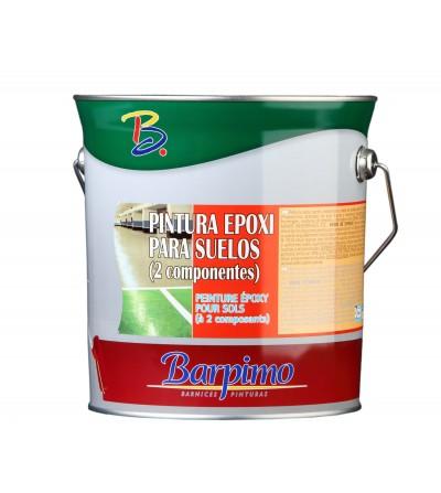 Pintura epoxi suelos gris ral 7038 de 3 L + catalizador