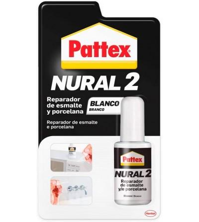 Pattex nural 2 reparador cerámico blanco 50 gr