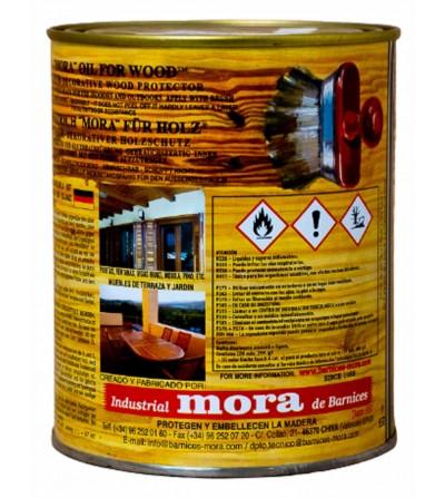 Aceite Mora Madera satinado 1L