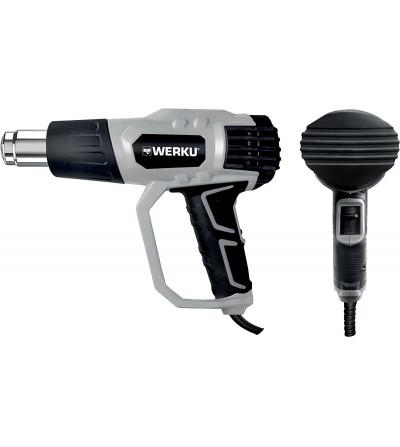 Werku pistola aire caliente decapador 2000W