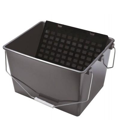 Cubeta Con Asas + Escurridor Incluido 16 L
